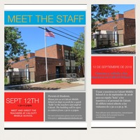 Sept 12 - Come meet the teachers!