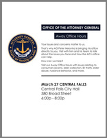 RI Attorney General to visit Central Falls