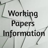 Need Working Papers?