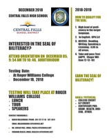 Opportunity for the Seal of Biliteracy