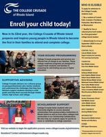 College Crusade Enrollment