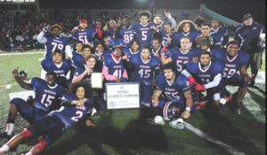 WARRIORS WIN DIVISION III SUPER BOWL