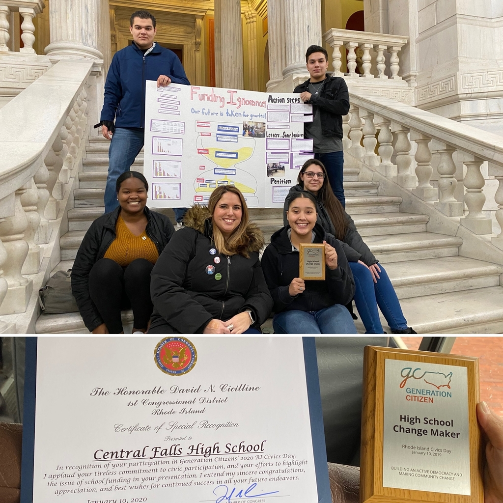 CFSH awarded top prize at state-wide Generation Citizen Civics Day!