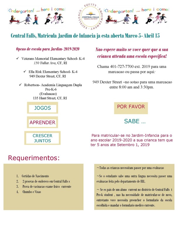Registration Form Portuguese